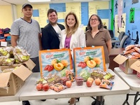 Moonjumpers support Tri-CYA Food Pantry initiatives