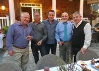 Moonjumpers help support The Good Fellows of Suffolk County - Rob Benson, Peter Bertuglia, Jimmy Kuhn, Ray Homburger & Pete Hornick