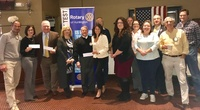 Moonjumpers receive Rotary Club of Huntington Sponsorship Grant
